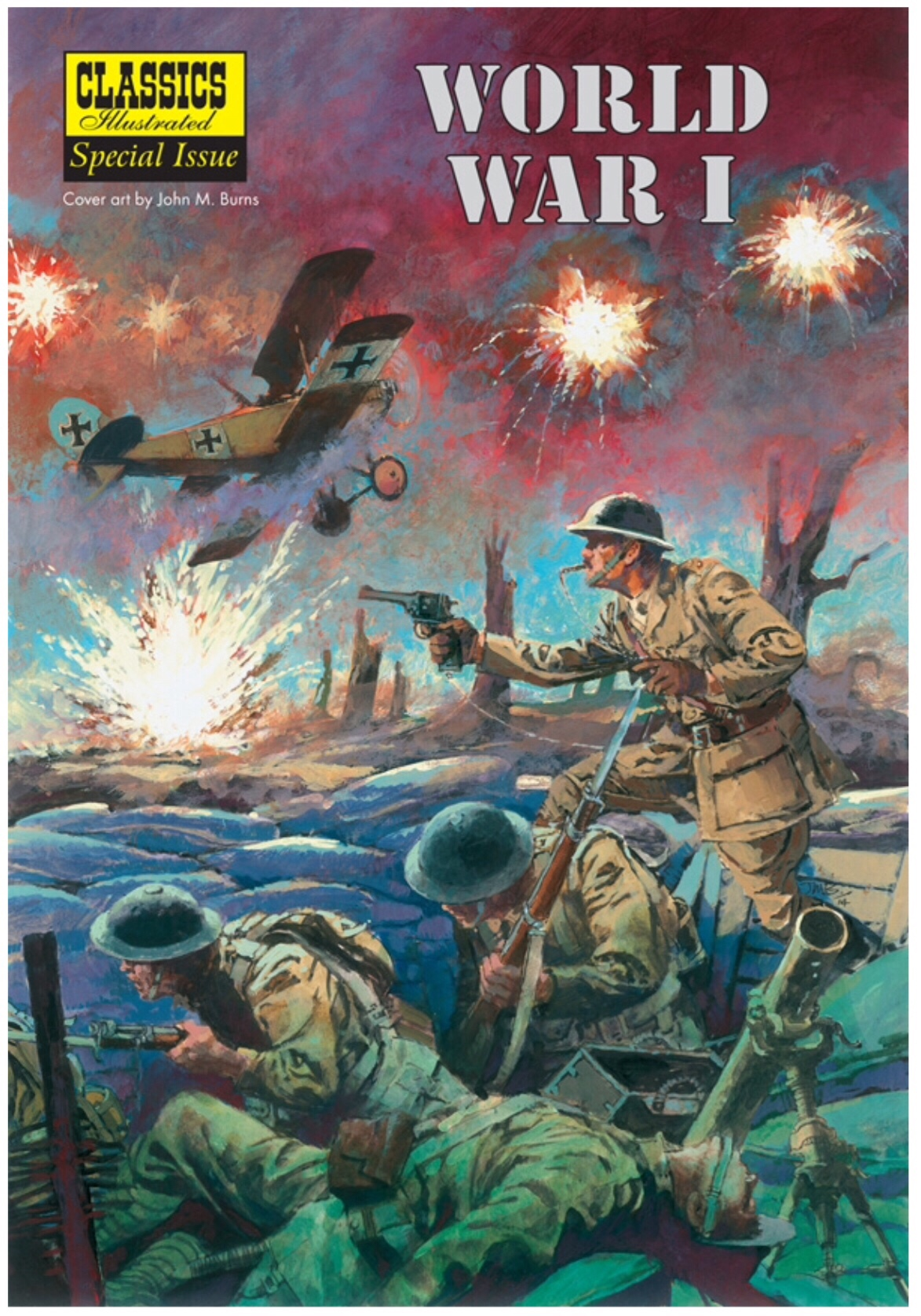 Classics Illustrated World War One Special