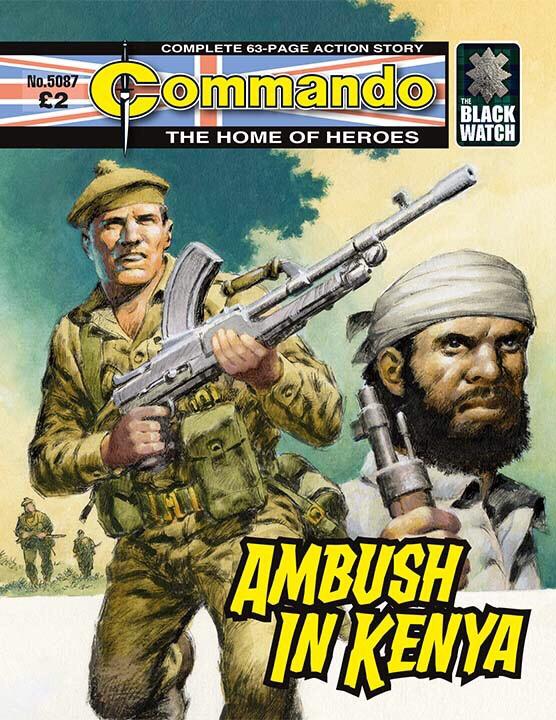 Commando 5087 - Home of Heroes: Ambush in Kenya