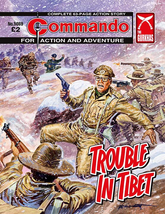 Commando 5089 - Action and Adventure: Trouble in Tibet