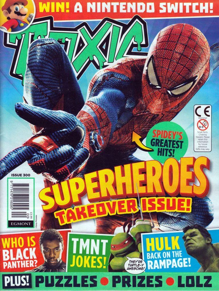 TOXIC Issue 300. Image courtesy Lew Stringer