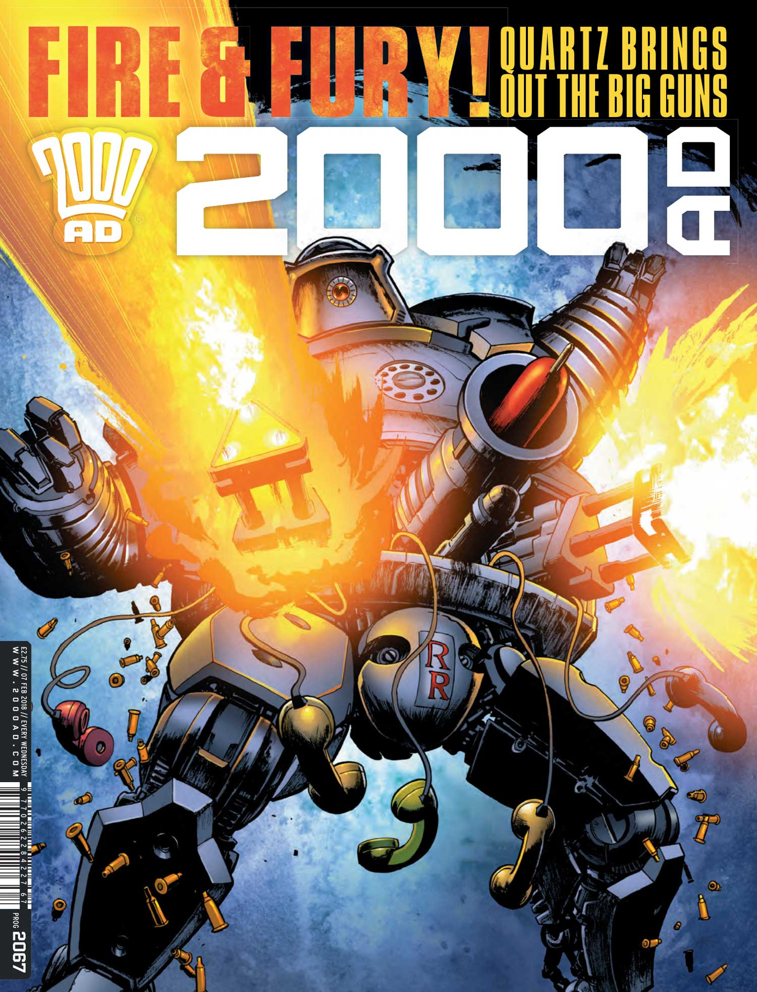 2000AD 2067 - Cover