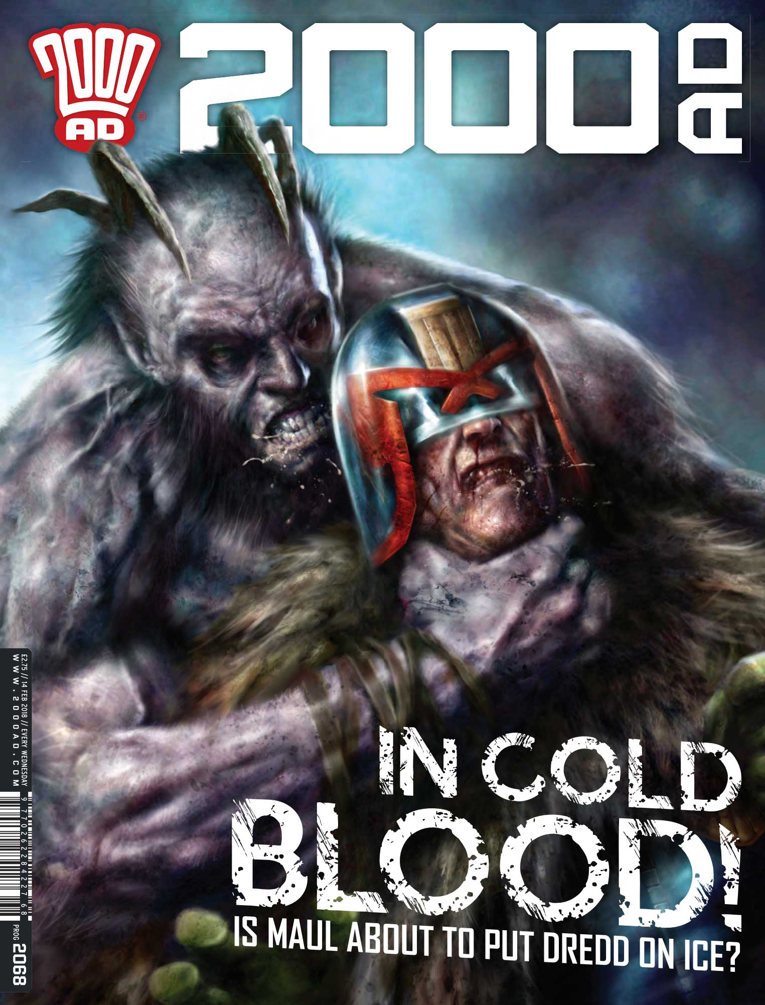 2000AD 2068 - Cover