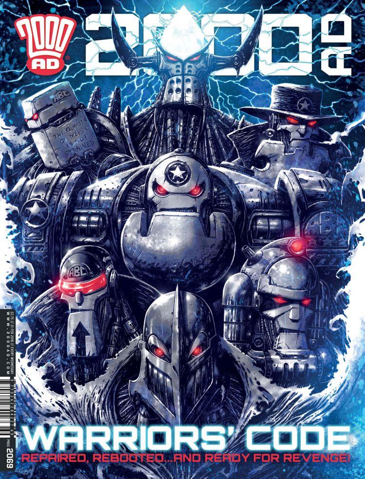 2000AD 2069 - Cover