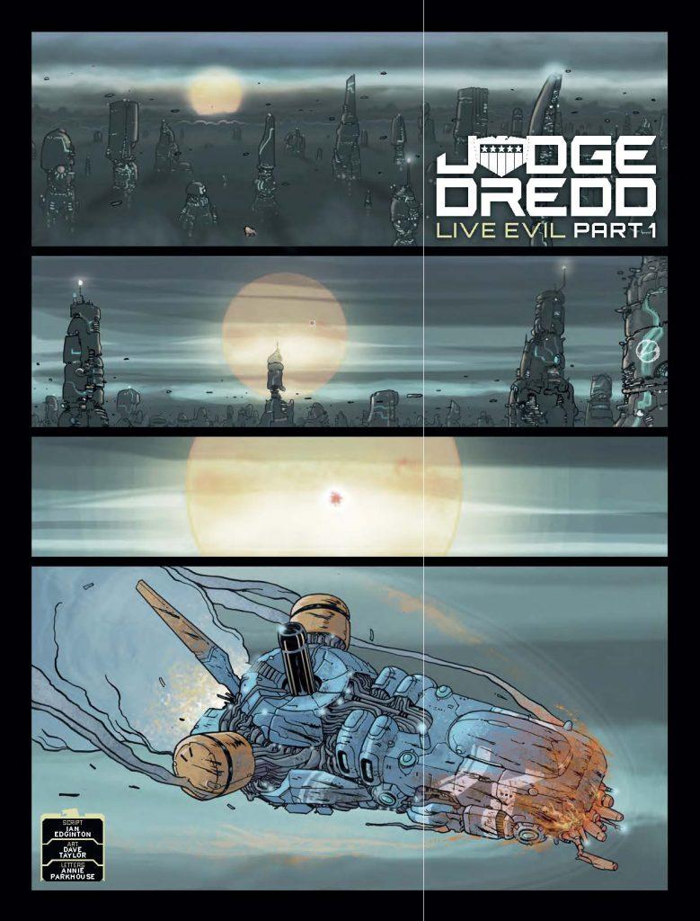 2000AD 2069 - Judge Dredd » Live Evil (part 1)