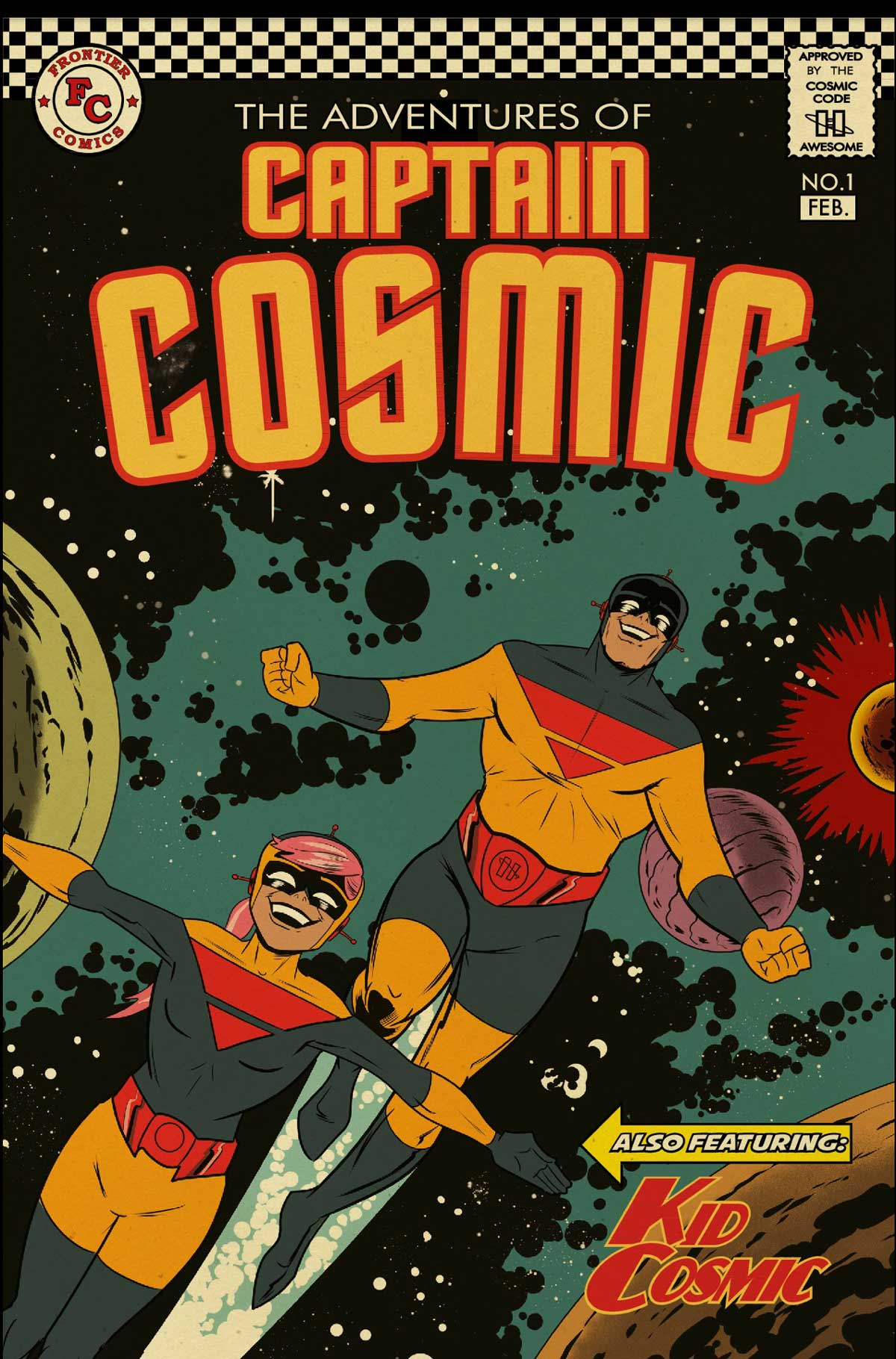 The Adventures of Captain Cosmic #1 - Cover