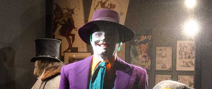 DC Exhibition: Dawn of Super Heroes - Joker and Penguin SNIP