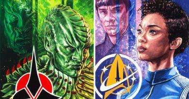 Star Trek art by Graeme Neil Reid