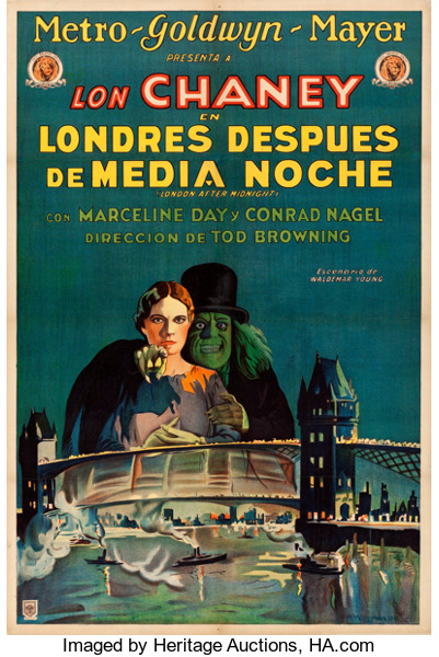 London after Midnight Film Poster