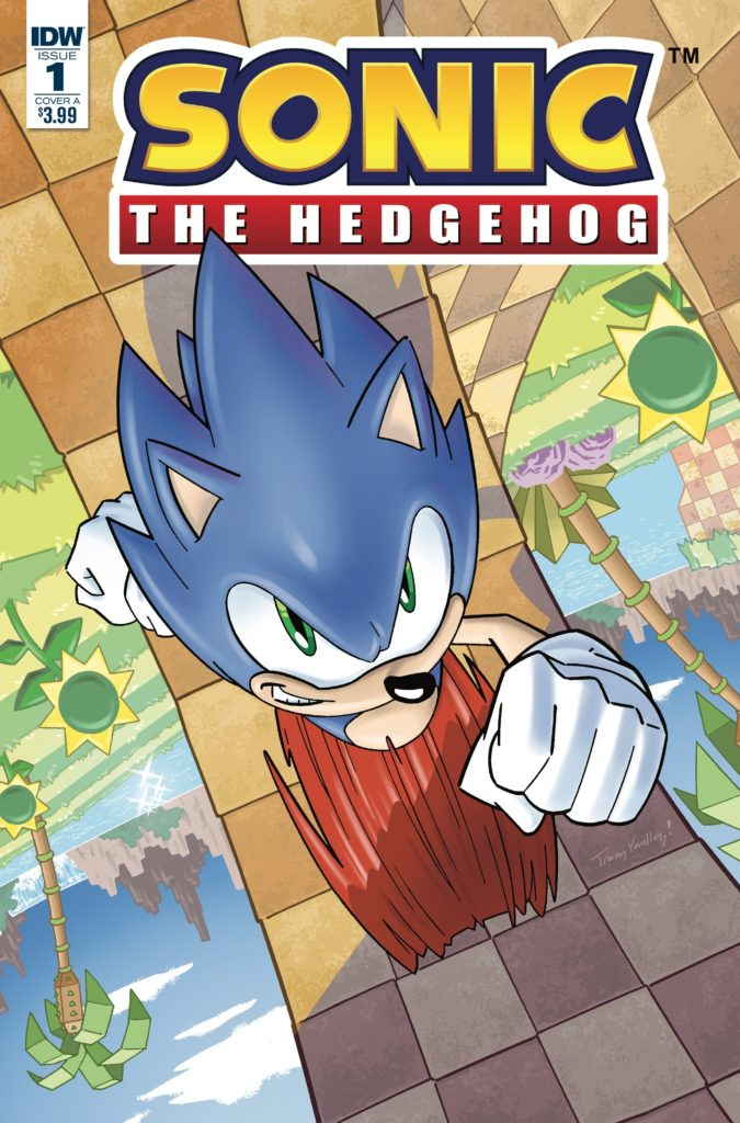 Sonic the Hedgehog IDW 2018
