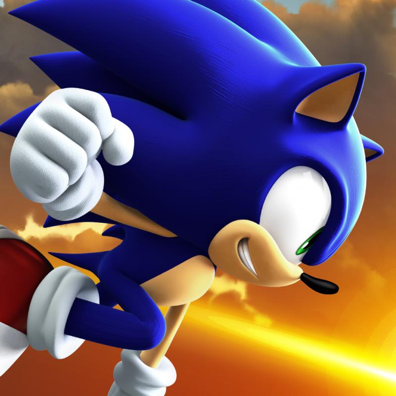 Sonic Forces Speed Battle Art