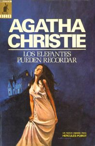 Agatha Christie Book cover by Ángel Badia Camps