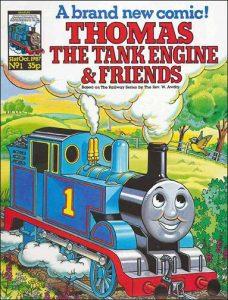 Thomas the Tank Engine Issue One - Marvel UK