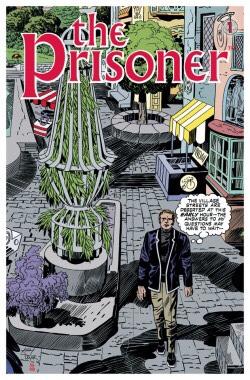 The Prisoner #1 Cover C: Mike Allred, Jack Kirby