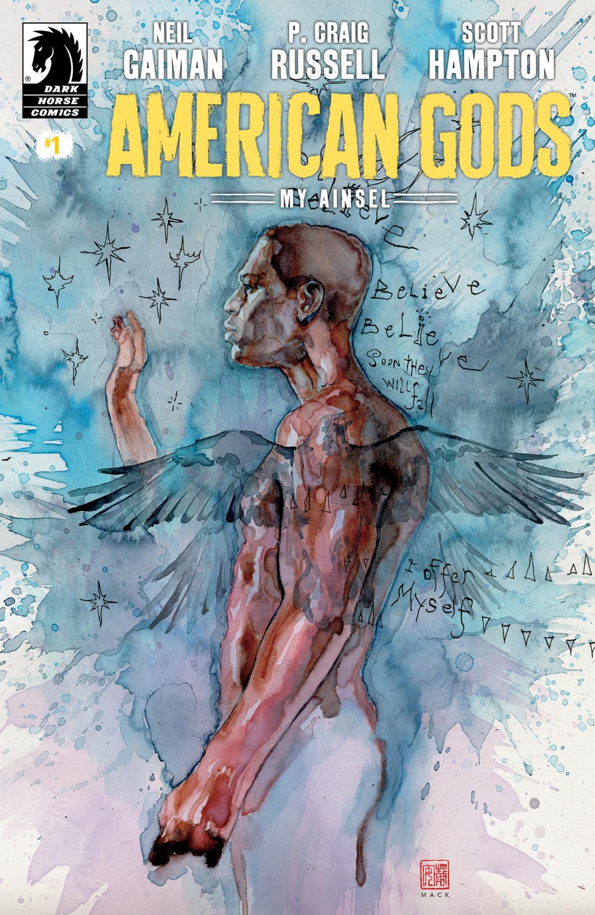 """American Gods: My Ainsel"" #1 (David Mack Variant Cover)"