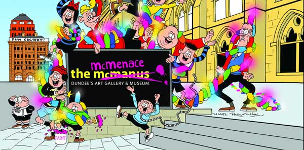 McManus Gallery becomes the McMenace Gallery SNIP