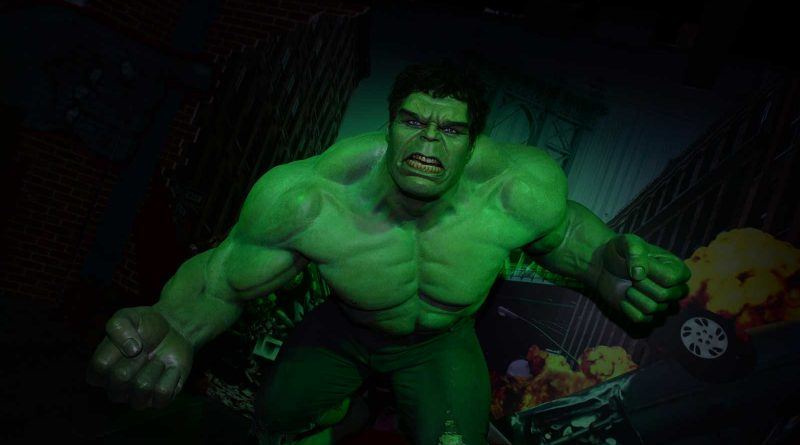 Madame Tussauds Blackpool - Marvel Superheroes - Hulk