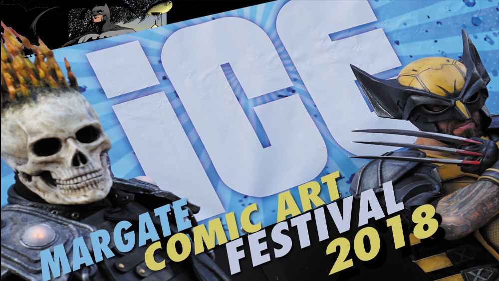 Margate Comic Art Festival 2018 Promotional Art