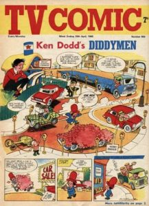 "TV Comic featuring ""Ken Dodd's Diddymen"" on the cover"
