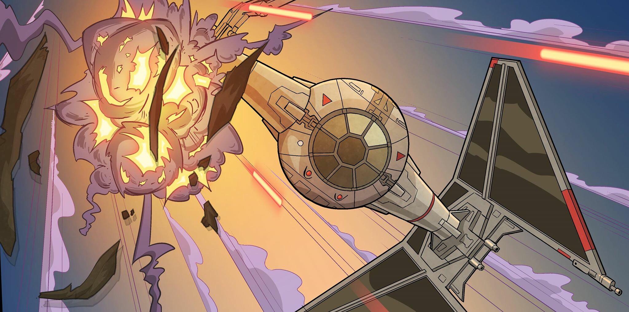Star Wars art by Bob Molesworth