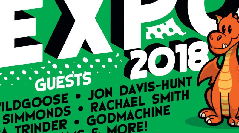 Cardiff Indie Comic Expo 2018 SNIP