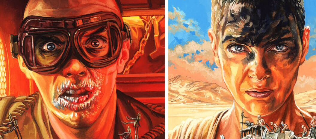 Mad Max: Fury Road art by Graeme Neil Reid SNIP