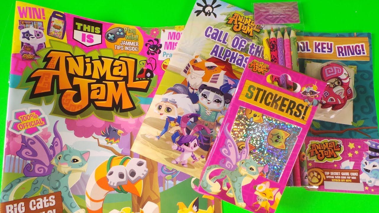 This Is Animal Jam magazine Issue One - Content