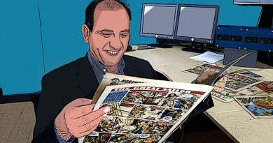"""While BBC local radio regularly covers comic happenings, the last major TV coverage was in 2008 on """"Comics Britannia"""""""