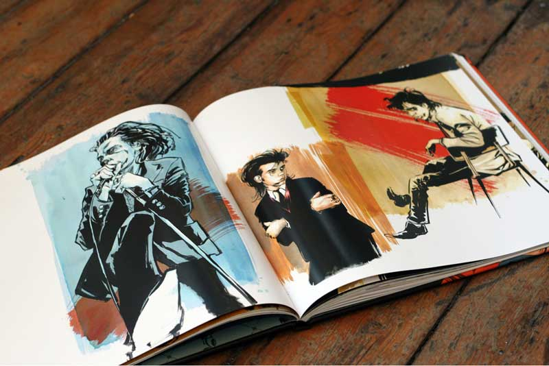 Nick Cave & The Bad Seeds: An Art Book - Sample Art
