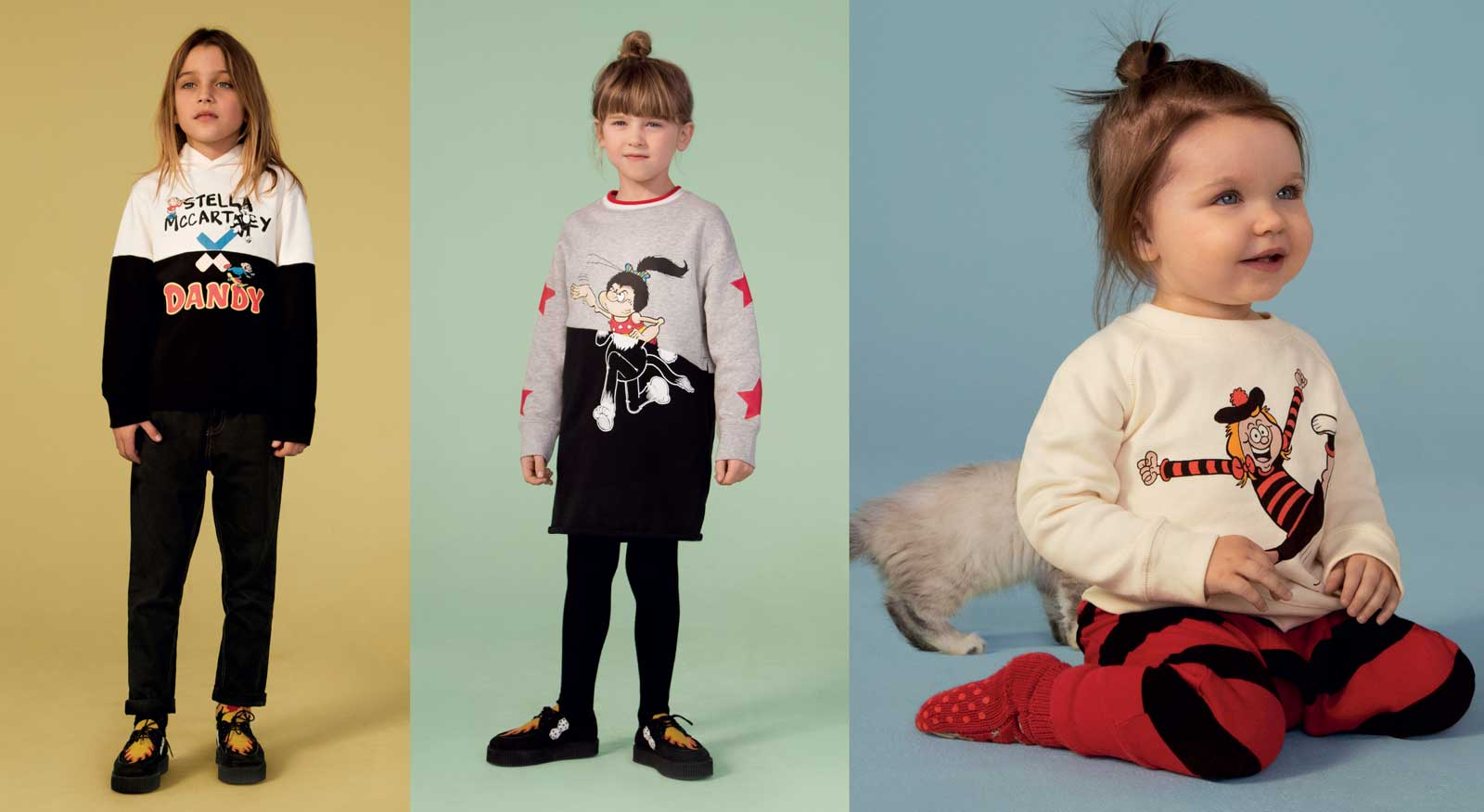 Stella McCartney Beano AW18 Kids Clothes
