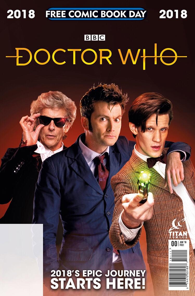 Titan Comics Free Comic Book Day 2018 Doctor Who