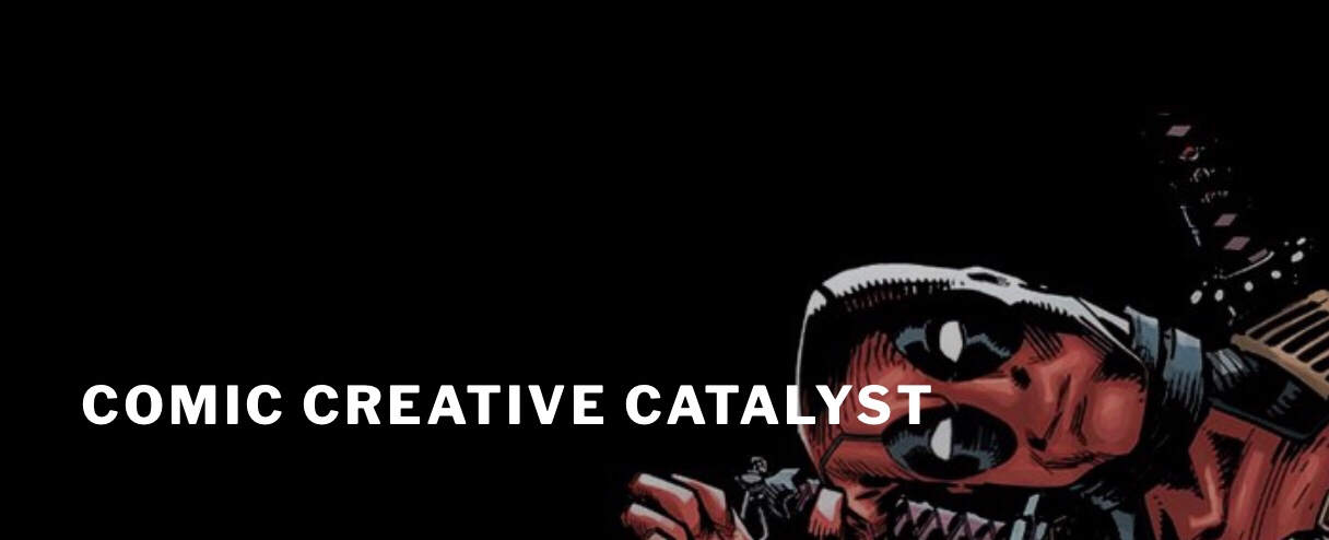 Create the Break - Comic Creative Catalyst Logo