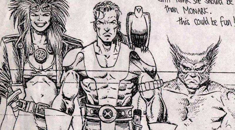 Rourke of the Radlands, Monark Starstalker and Wolverine - SNIP