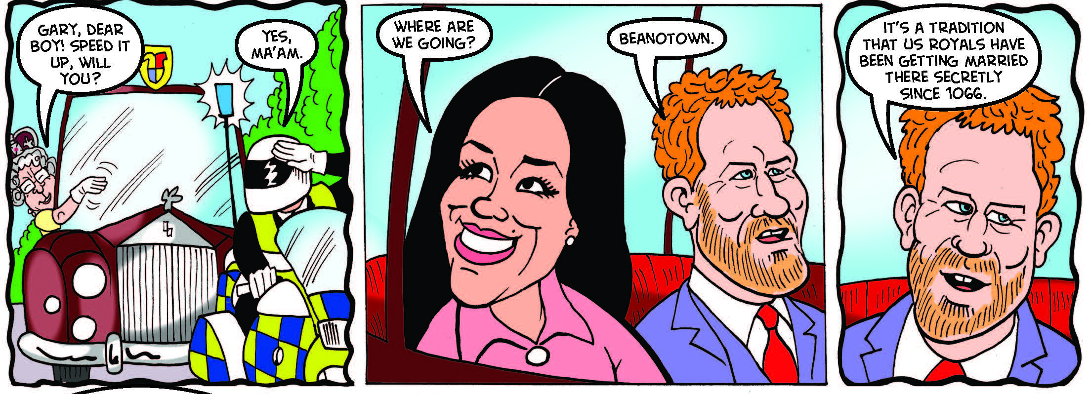 Beano 3935 - Royal Wedding Rumble 1