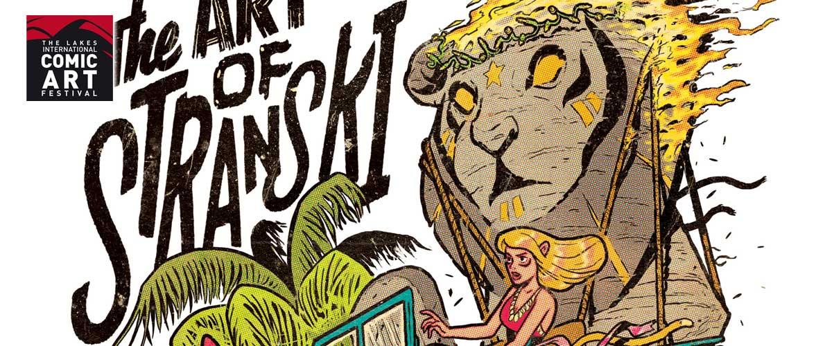 The Art of Stranski Exhibition Poster SNIP