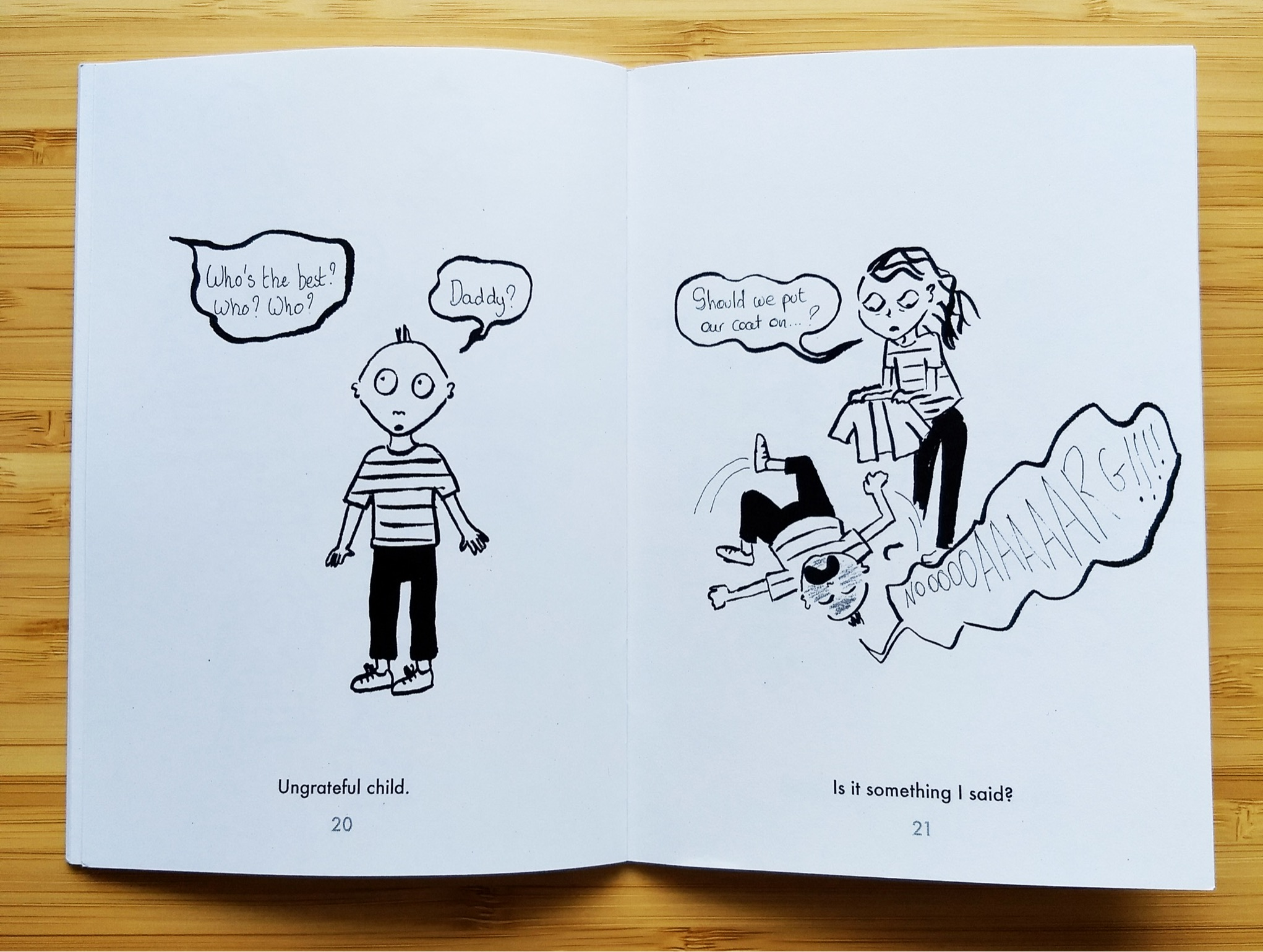 Toddler Moments by Camille Aubry - Sample Art