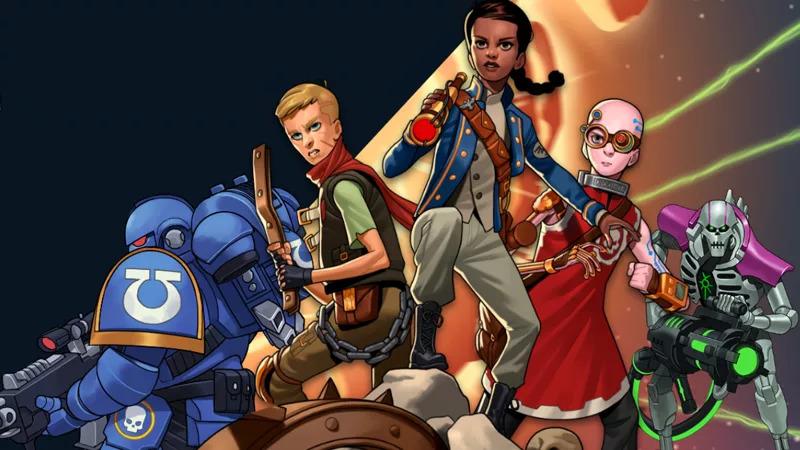 Warhammer Adevnture Novels. Image: Games Workshop