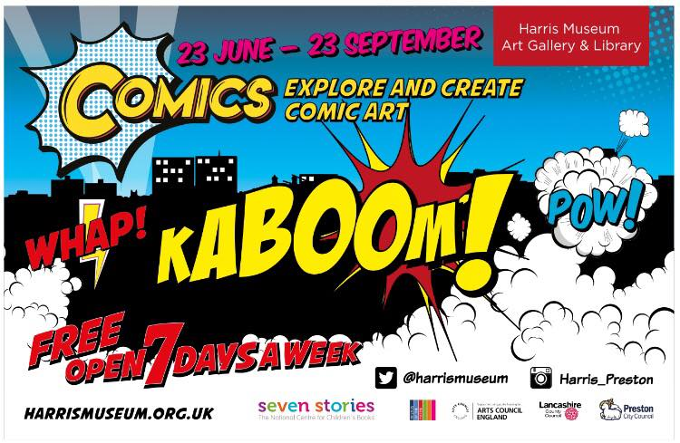 Comics at the Harris Museum 2018