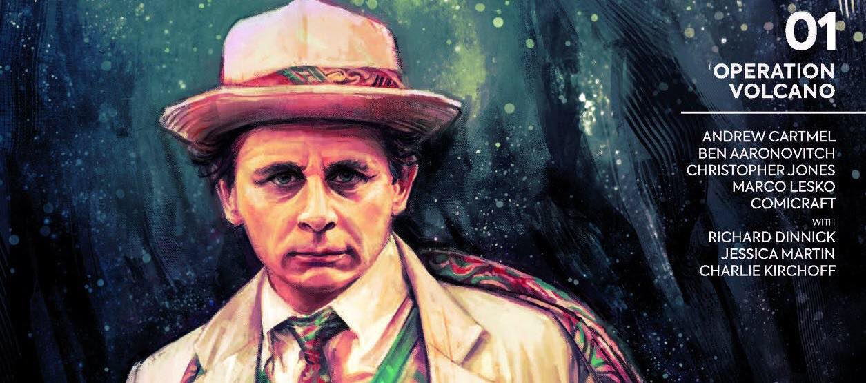 Doctor Who - The Seventh Doctor - Operation Volcano #1 Cover A SNIP