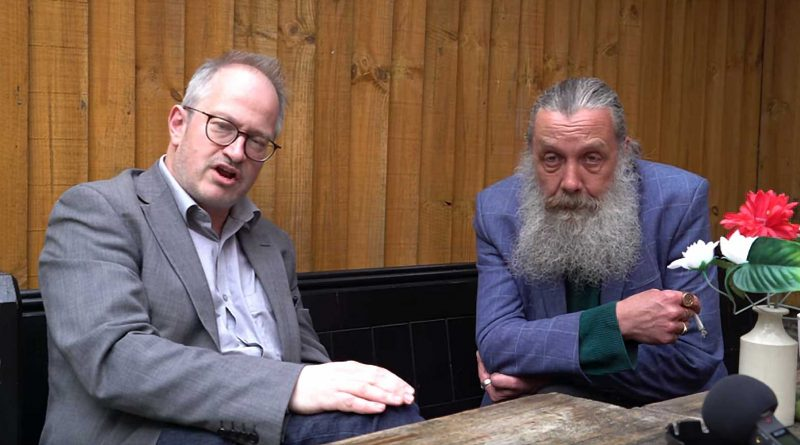 Book Shambles - Robin Ince and Alan Moore