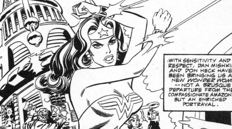 Wonder Woman by Don Heck SNIP