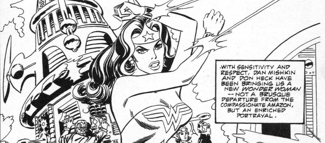 Wonder Woman by Don Heck SNIP