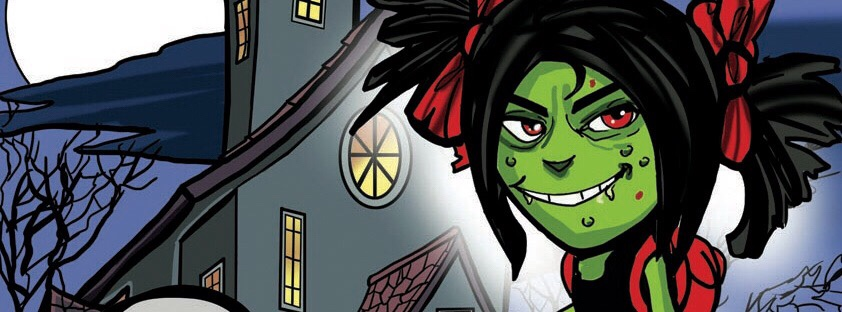 Zena the Zombie - Cover SNIP