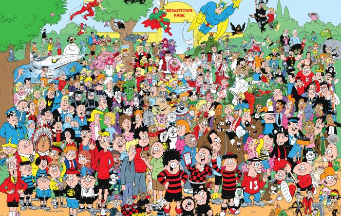 Beano 80th Anniversary Poster