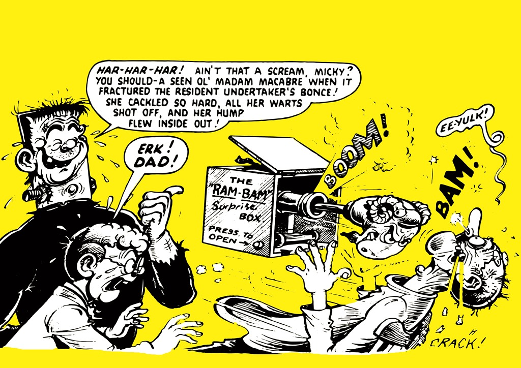 The POWer Pack of Ken Reid Volume 1 - Endpapers
