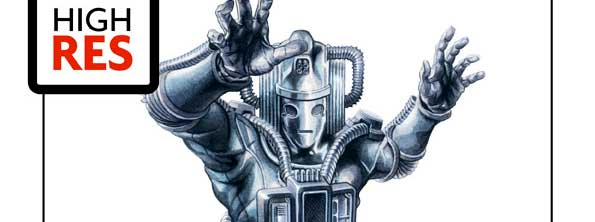 Revenge of the Cybermen Print by Graeme Neil Reid SNIP