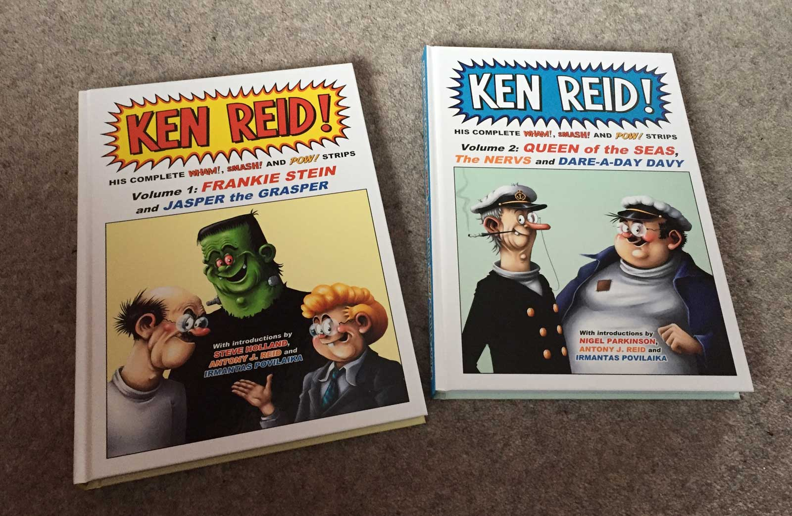 Power Pack of Ken Reid - The Books