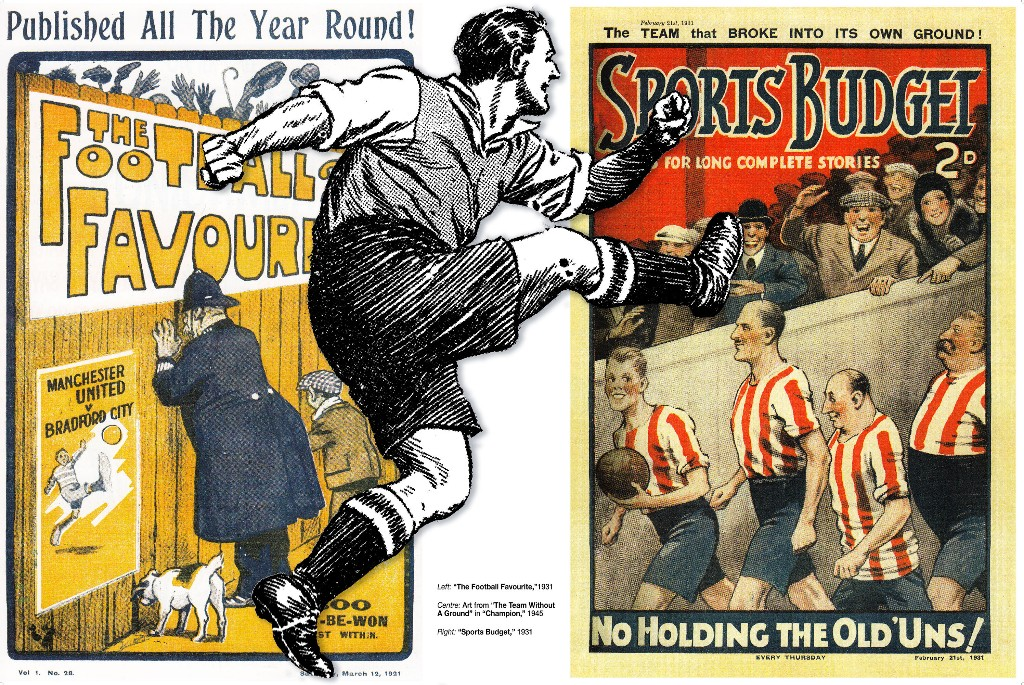 Playing for a Draw - Early Football Comics