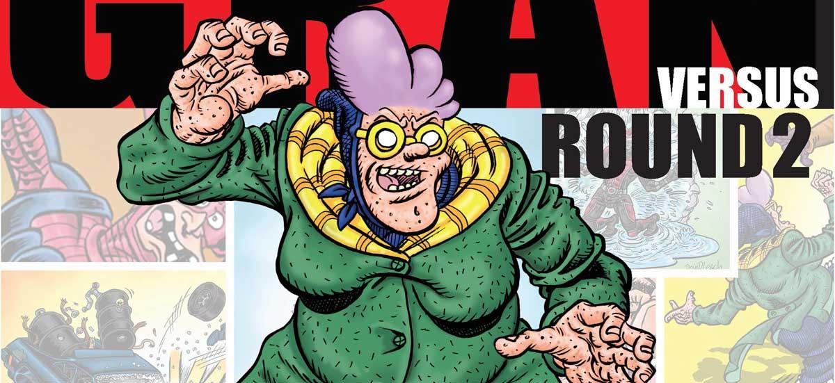 Psycho Gran versus... Round 2! - Cover SNIP