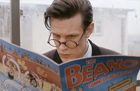 The Doctor reading The Beano 1981 Summer Special in the 2013 episode The Rings of Akhaten. Image: BBC