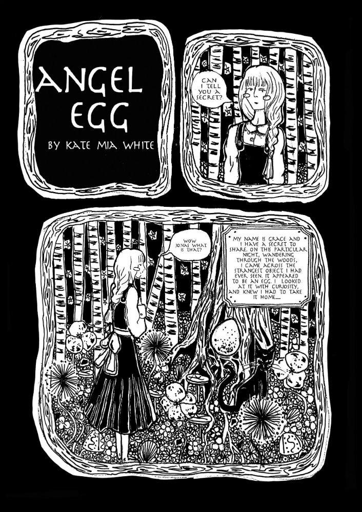 'Angel Egg' by Kate-mia White
